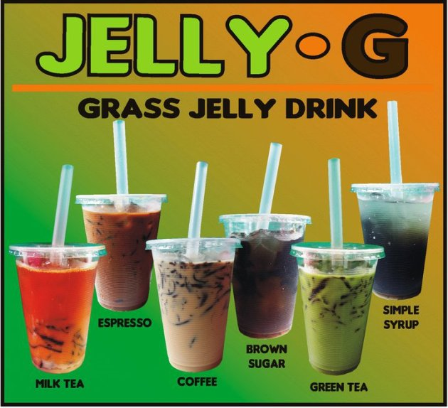 Jelly G Grass Jelly drink